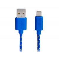 Оригинальный 1,2 м 8-контактный Тканые зарядный кабель USB для передачи данных для iPhone 5S / 5, IPad мини, Ipad мини 2, Ipad
