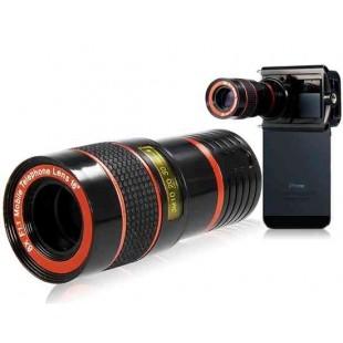 Насадка 8x зум  телескопический объектив  для iPhone / Samsung