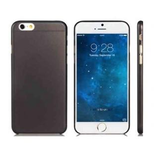 4.7 `` Ультра-тонкий пластик обложка чехол для iPhone 6 (черный)