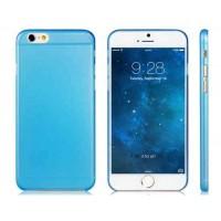 4.7 `` Ультра-тонкий пластик обложка чехол для iPhone 6 (синий)