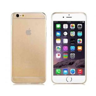 Ультратонкий Резина TPU обложка чехол для 5,5 `` iPhone 6 Plus (прозрачный)