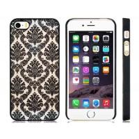 Пластиковый защитный чехол для iPhone 5S/5 (черный)