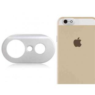 Металлическая защита фото камеры для 4,7 ; iPhone 6 (серебро)