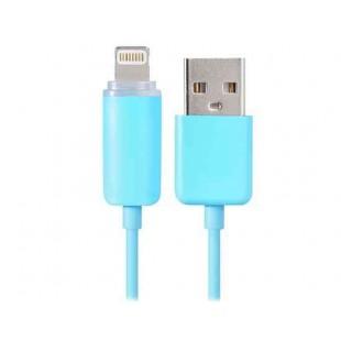 1M 8-пиновый кабель  данных со светодиодной подсветкой для iPhone 5/6