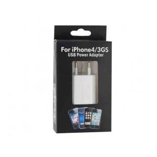USB-адаптер ЕС питания для Apple IPhone 4G (белый)