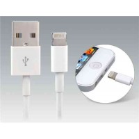 USB  кабель для iPhone 5, Ipod Touch 5, IPod Nano 7, Ipad Mini / 4 1,0 м