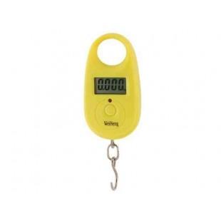 WH-A11 25 кг портативные электронные весы (желтый)