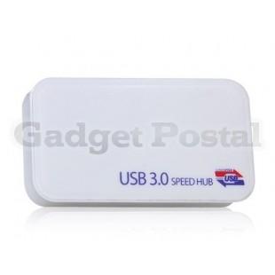 Четыре порта USB 3.0 Интерфейсы HUB (белый)
