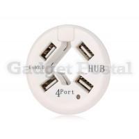 Купить 4-порты 1.5 / 12/488 Мбит Круглый Mini USB 2.0 хаб (белый)