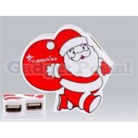 Купить Санта-Клаус 4 порта USB 2.0 Интерфейсы хаб (черный)
