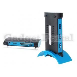 BW-3022B Внешний 3 порта USB 3.0 концентратор & Card Reader