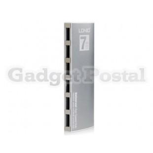 LDNIO DL-H7 High-speed 7 x USB2.0 Hub (Silver)