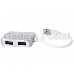 SIYOTEAM SY-H20 4-портовый USB 2.0 хаб (серебро)