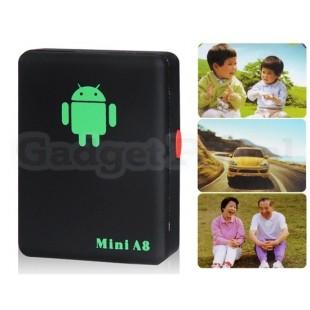 A8 Mini GPS Tracker для пожилых людей / детей / автомобиля артикул EG0023B