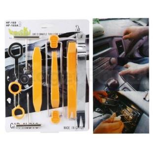 Инструмент для демонтажа приборной панели автомобиля (оранжевый)