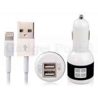 F97 Dual USB зарядное устройство для iPhone 5