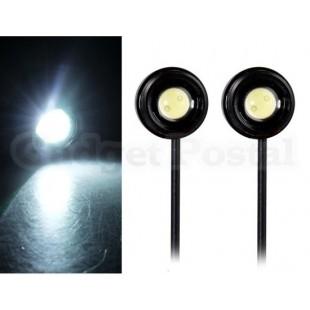 Мощные светодиодные подсветки для  безопасности 2 шт