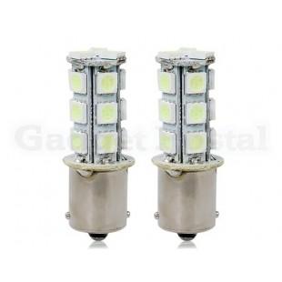 1156-18SMD 18 х 5050SMD Cold Blue Light светодиодных Автомобильные лампы 2шт
