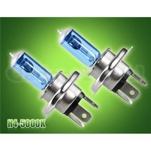 H4 100W 12V белый свет авто Галогенные лампы (синий)
