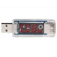 Мини-USB  вольтметр и амперметр
