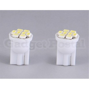 T10-1206 8-LED белый свет в салон для чтения