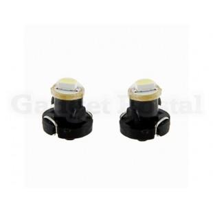 2 шт 0.05 Вт Светодиодные лампочки для приборной панели автомобиля, белого света.