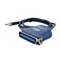 BAFO F-1284 Paralled Порт-кабель USB для принтера (черный)