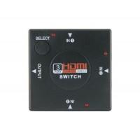 3 Way Переключатель HDMI (черный)