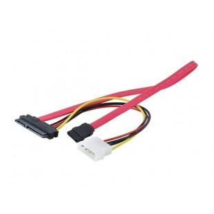 Передача 15 & 7 Pin Power Data на 4-контактный IDE кабель SATA адаптер Прохладный CPU