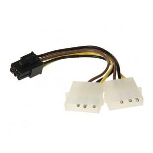6-контактный Преобразование 4-контактный кабель питания