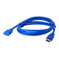 1,5 м USB 3.0 к Micro B Соединительный кабель HDD(синий)
