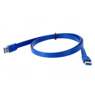Высокопроизводительные 1 м USB3.0 к USB3.0 кабель (синий)