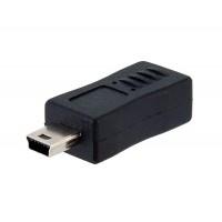 """Адаптер из mini USB """"папа"""" в микро USB """"мама"""""""