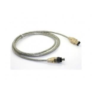 6 до 4 Pin IEEE 1394 Firewire iLink DV-кабель для Mac / PC (серебро)