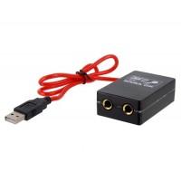 Высокопроизводительный USB кабель микрофона (черный)