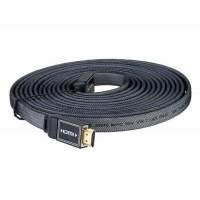 5 м 1.4 Версия HDMI High Definition Плоский кабель (черный)
