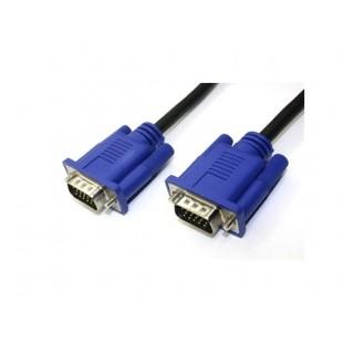 1.8M SVGA VGA M / M мужское видео монитор кабель-удлинитель (черный)