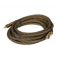 3 м Позолоченный, 24 Плетеный оптический кабель