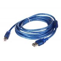 3 м Кабель для принтера USB 2.0 (синий)
