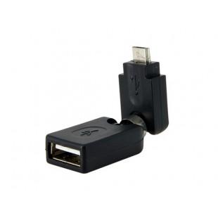 USB на микро USB AF-Micro поворачивающийся на 360 ° адаптер