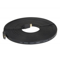 1.4 Версия 10м 1080P Плоский кабель HDMI (черный)