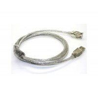 1,5 м USB 2.0 удлинитель USB A / мужчин / женщины (серебро)