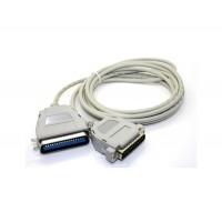 3M DB25 M / F IEEE 1284 параллельный кабель для печати