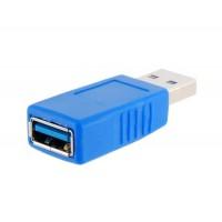 Мужской USB3.0 порт к порту Женский адаптер (синий)