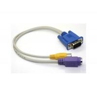 VGA к S-VIDEO и RCA Composite Кабель-адаптер