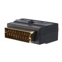 SCART на 3-RCA адаптер (черный)