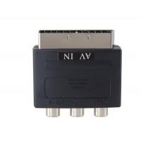 SCART  - RCA адаптер (черный)