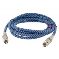 RCA к RCA кабель 2 м (синий)
