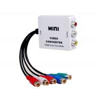 HDV-M617 Mini YPbPr для AV конвертер (белый)