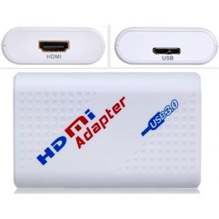HDV-U20 USB 3.0 для адаптера DVI (белый)